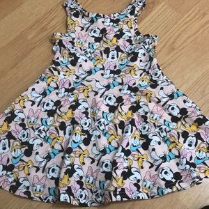 Sz 4t Mickey Mouse dress nwot